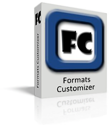 Formats Customizer