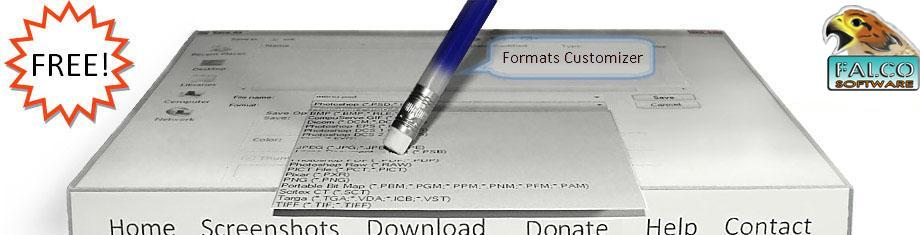 Formats Customizer header and toolbar